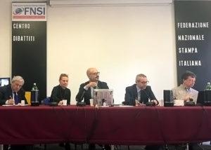 La conferenza del lavoro autonomo in Fnsi