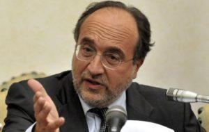 Il presidente della Fnsi Giuseppe Giulietti